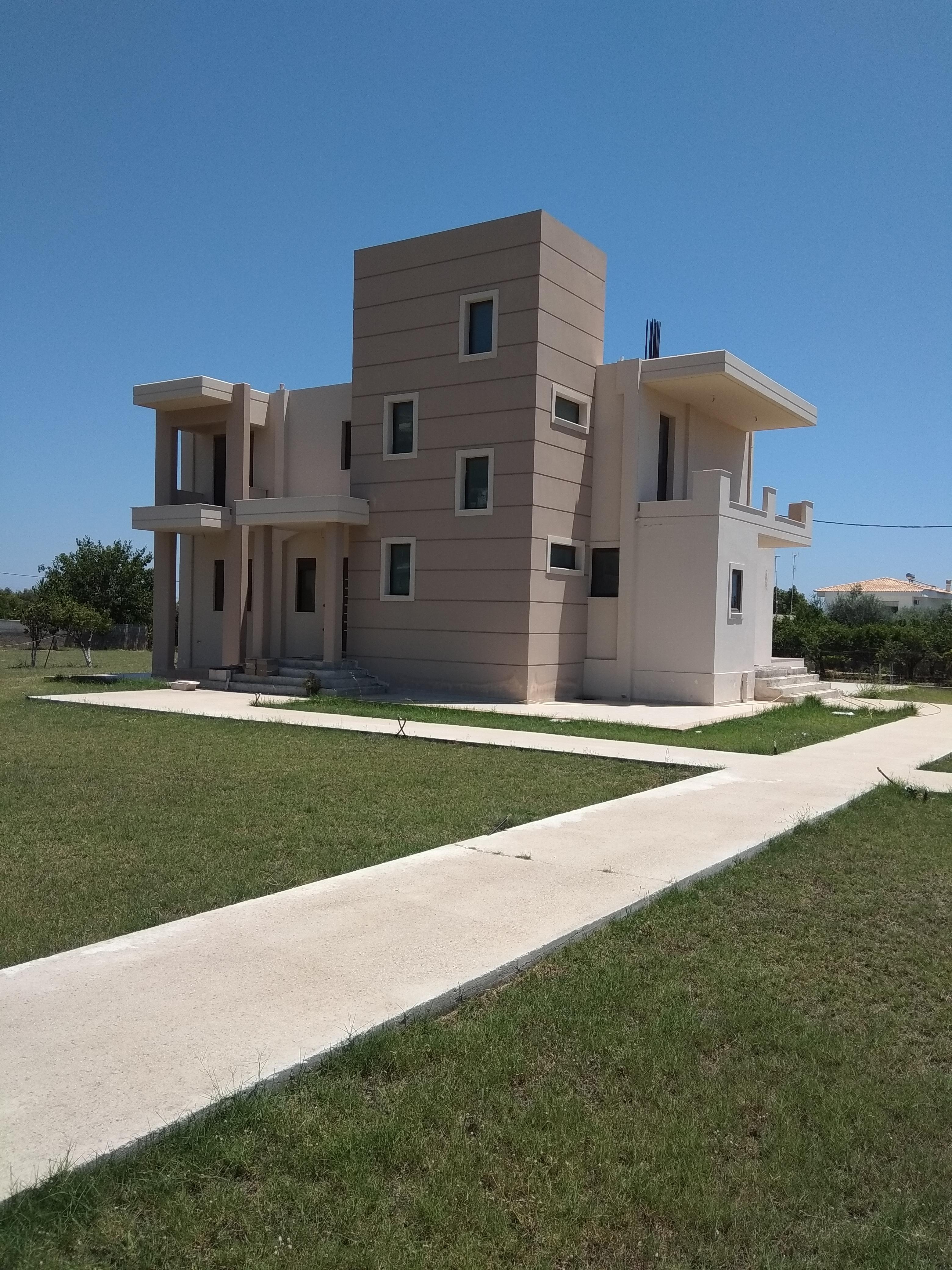 Νεόδμητη πολυτελής Μονοκατοικία  σε οικόπεδο 3,5 στρεμμάτων, Αφάντου Ρόδου, Ρόδος,KAS-98883